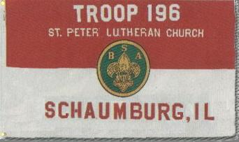 scout troop 196 chartered by St.Peter Lutheran Church